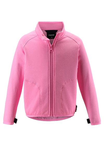 Kinder Sweatjacke Klippe Unicorn pink