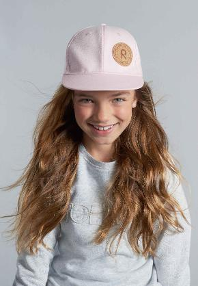 Kids' cap Boat Pale rose
