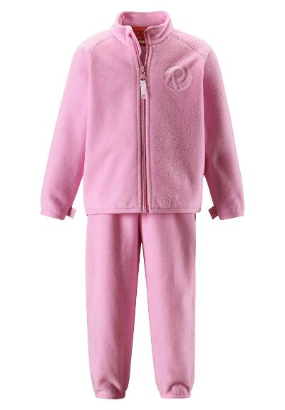 Kleinkinder Fleece Set Etamin Candy pink