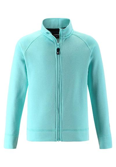 Kids' mid-layer jacket Rejse Light turquoise