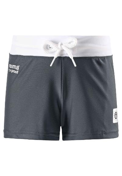 Kids' swim trunks Tonga Soft black