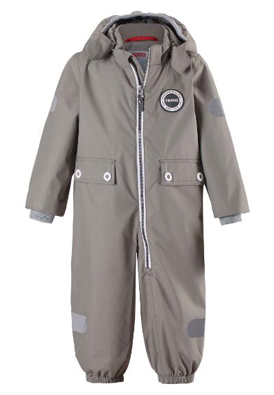 Toddlers' spring jumpsuit Mynte Clay grey