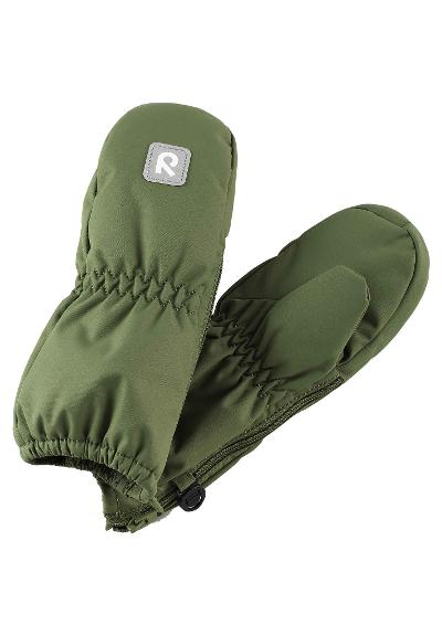 Toddlers' winter mittens Tassu Khaki green