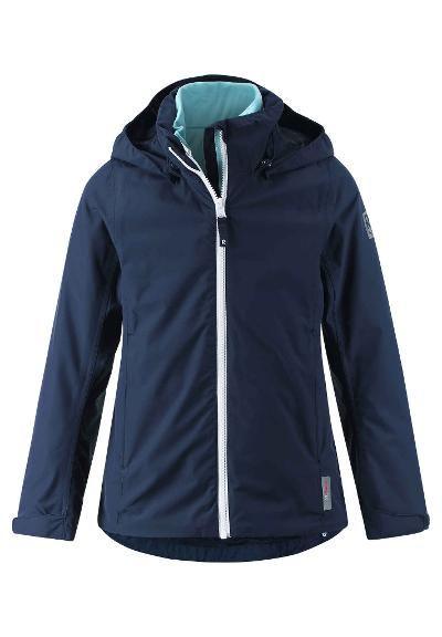 Kids' 3-in-1 spring jacket Tibia Navy