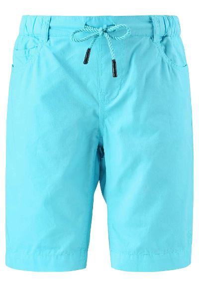 Kinder Shorts Airplane  Cyan blue