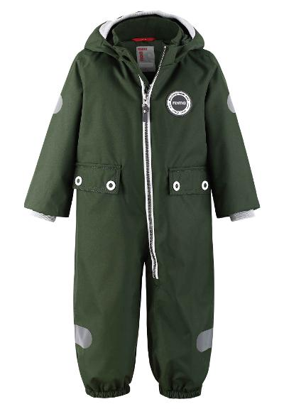 Mellomsesong parkdress Mynte Dark green