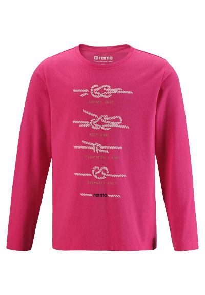 Toddlers' long-sleeve T-shirt Margita Candy pink