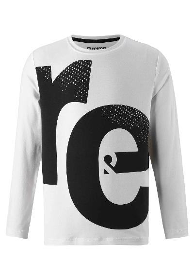 Kids' long-sleeve T-shirt Vantaa White