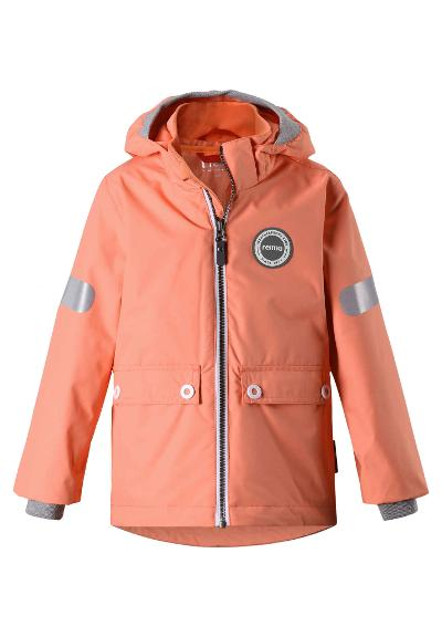 3-in-1 Reimatec waterproof jacket Sydvest Coral Pink