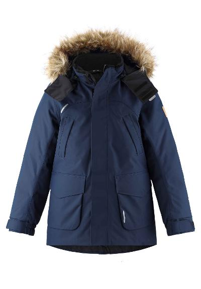 Kinder Winterjacke Serkku Navy