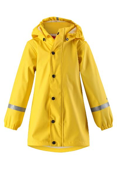 Kids' raincoat Vatten Yellow