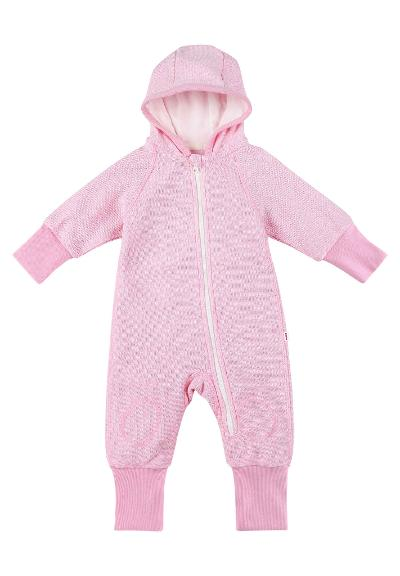 Baby Overall Harmois Rose pink