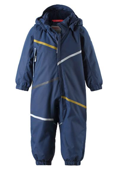 Toddlers' winter snowsuit Muotka Navy