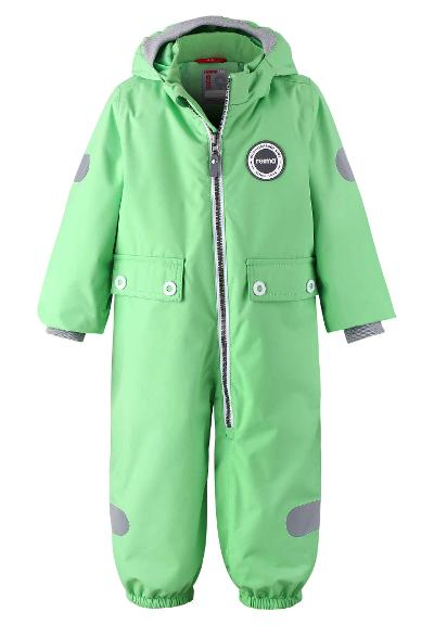 Småbarn skaloverall Mynte Light green