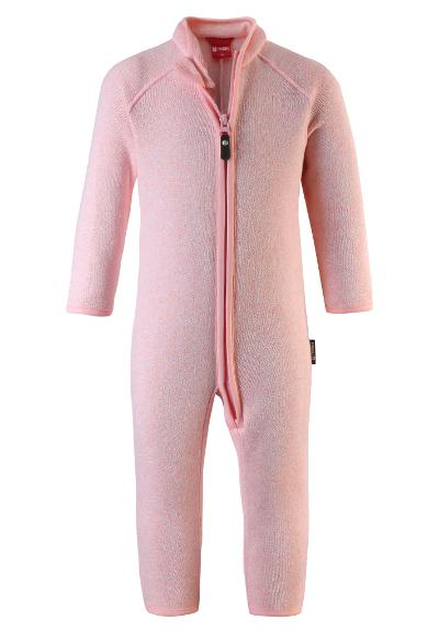 Barn fleeceoverall Tahti Powder pink