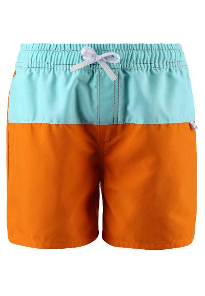 Kinder UV-Badehose Solsort  Orange