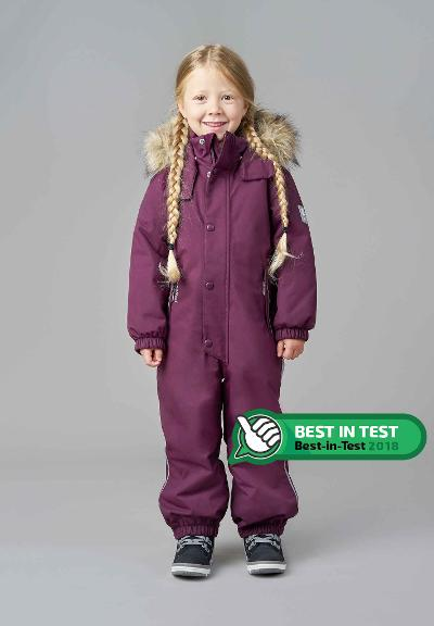 Reimatec winter overall, Stavanger Deep purple Deep purple