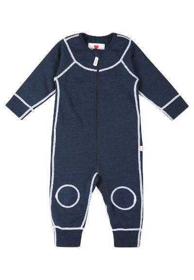 Ulldress til baby Lauha Navy