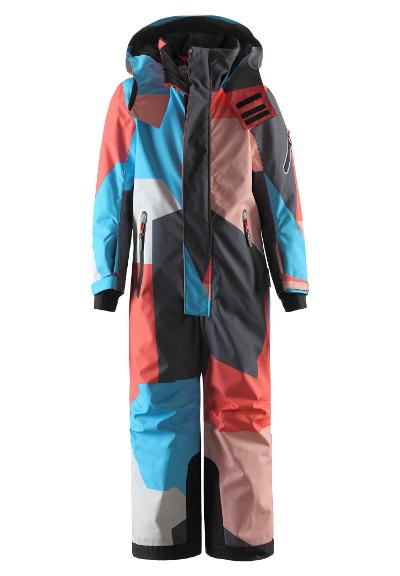 Kinder Skioverall Reach Bright salmon