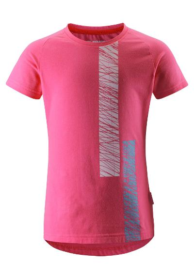 Kids' T-shirt Sejlads Candy pink