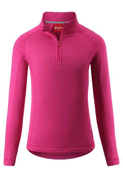 Kinder Fleecesweater Ainis Raspberry pink