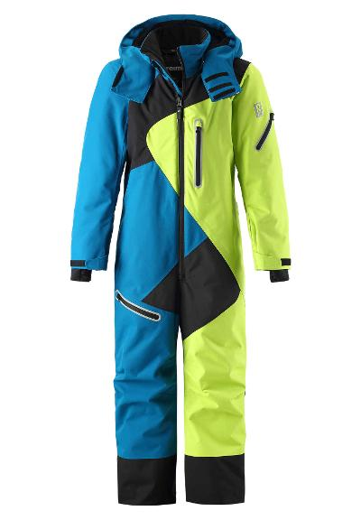 Kids' ski snowsuit Manaslu Dark sea blue