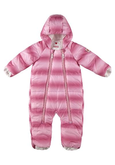 Vinterdress til baby Lumikko Light pink