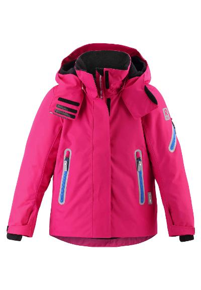 Kids' ski jacket Roxana Raspberry pink