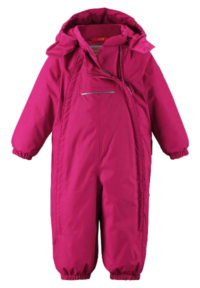Toddlers' winter snowsuit Copenhagen Cranberry pink