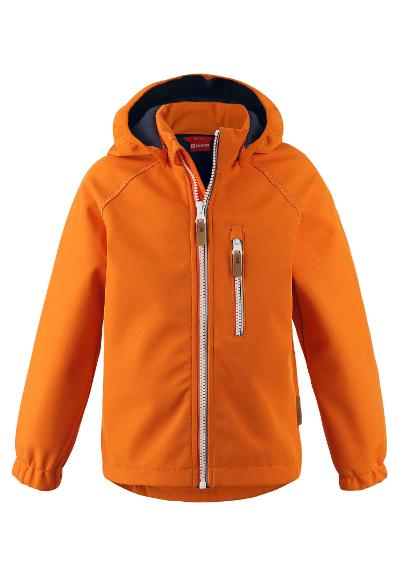 Kids' softshell jacket Vantti Orange