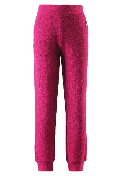 Kids' fleece joggers Sangis Raspberry pink