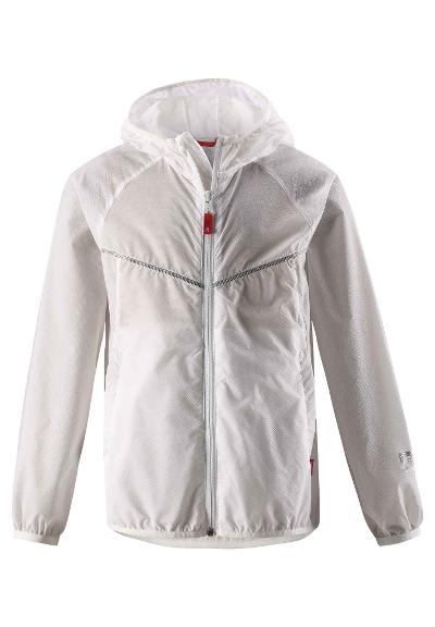Juniors' windbreaker Solen White