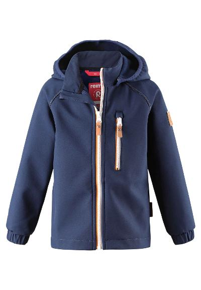Kids' softshell jacket Vantti Navy