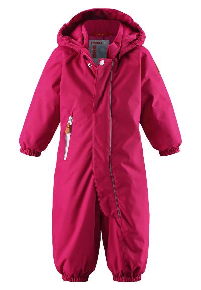 Toddlers' winter snowsuit Puhuri Cranberry pink