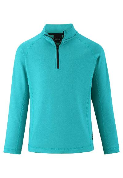 Kids' sweat jacket Valiin Soft cyan