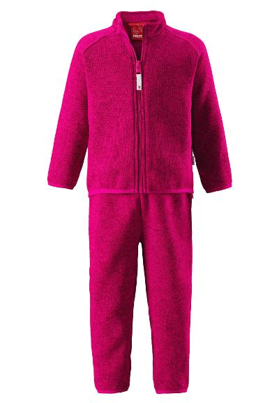 Kleinkinder Fleece Set Tahto Berry