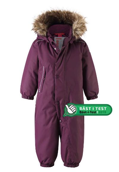 Toddlers' winter snowsuit Gotland Deep purple