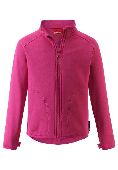 Kids' mid-layer jacket Klippe Raspberry pink