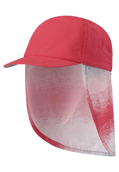 UV-hatt barn Alytos Bright red