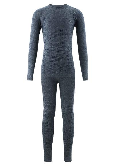 Kids' premium base layer set Hopea Meltaus Navy