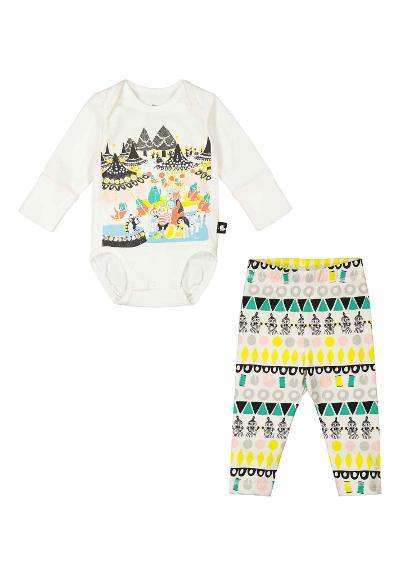 Baby set Moomin Firande Off white