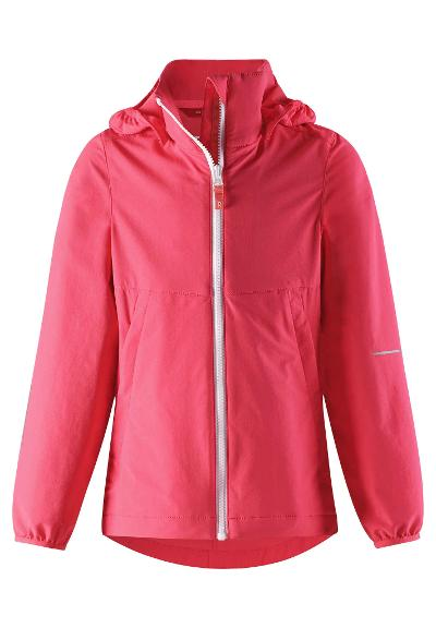 Kinder Übergangs Jacke Slusse  Neon Red
