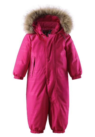 Toddlers' down jumpsuit Aapua Raspberry pink