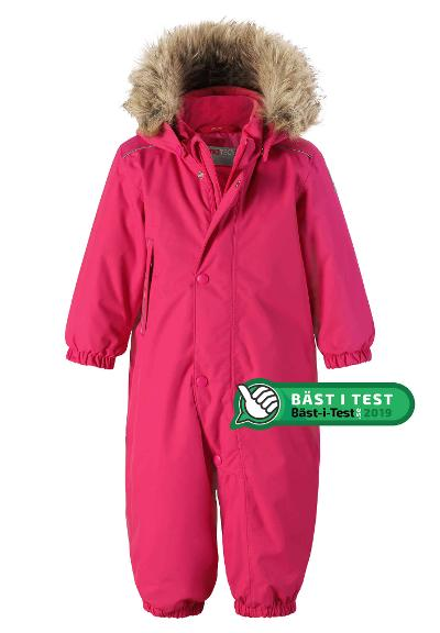 Toddlers' winter snowsuit Gotland Rose