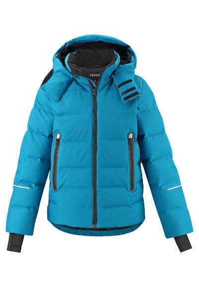 Kids' down ski jacket Wakeup Dark sea blue
