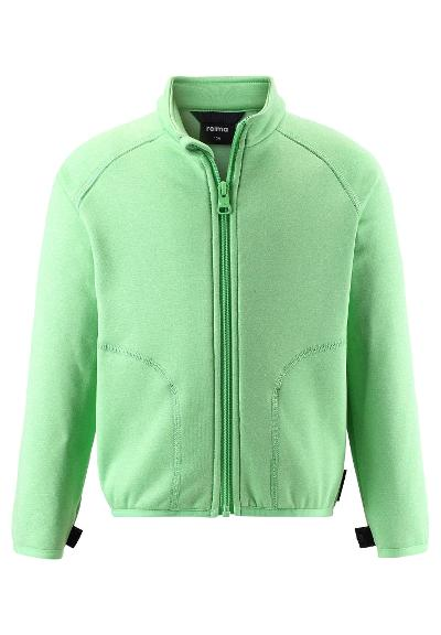 Kids' mid-layer jacket Klippe Light green