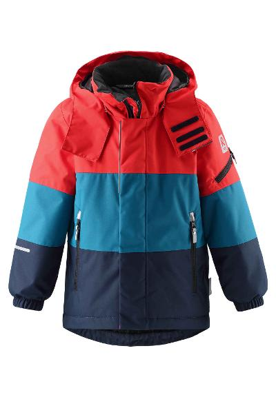 Kinder Skijacke Mountains Navy