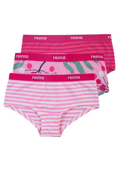 Kids' hipster briefs 3-pack Triga Unicorn pink