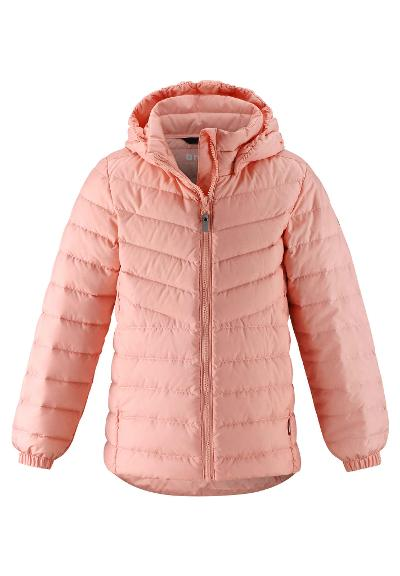 Kids' light down jacket Fern Powder pink