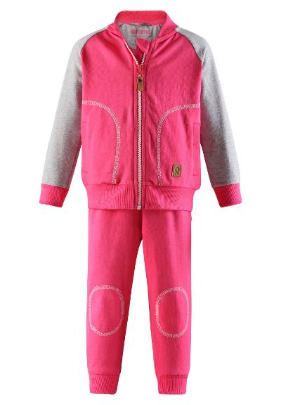 Toddlers' tracksuit Tiira Candy pink